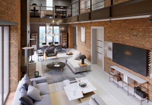 Comment réaliser une décoration industrielle dans un petit appartement ?